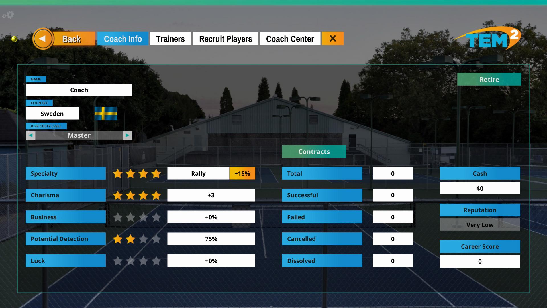 Tennis Elbow Manager 2 screenshot