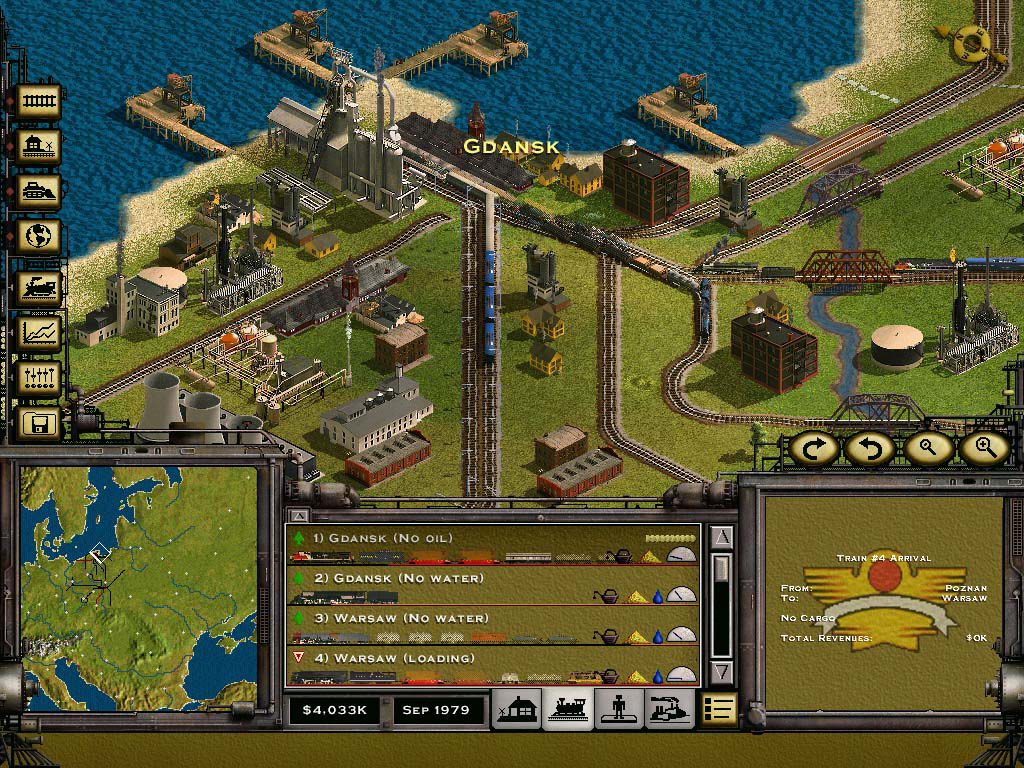Railroad Tycoon II Platinum screenshot