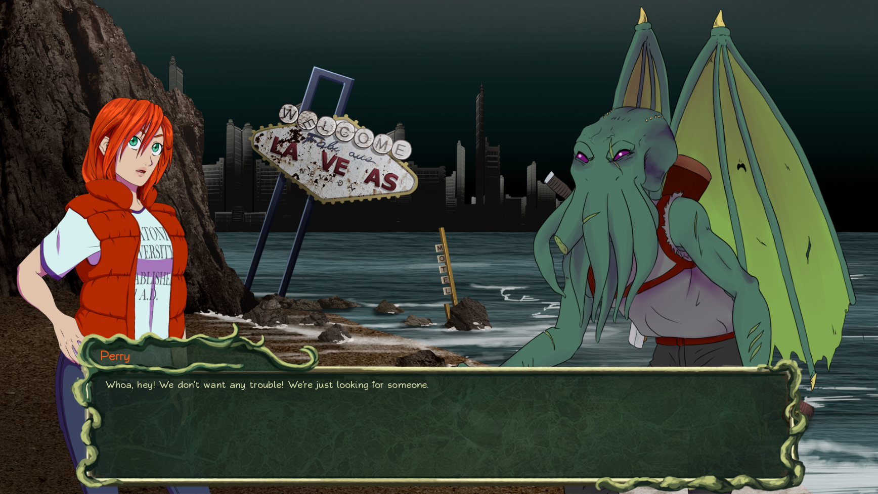 Super Army of Tentacles 3: The Search for Army of Tentacles 2: Black GOAT of the Woods Edition screenshot