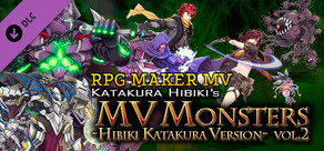 RPG Maker MV - MV Monsters HIBIKI KATAKURA ver Vol.2