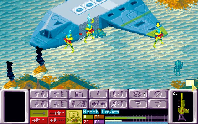 X-COM: Terror From the Deep screenshot