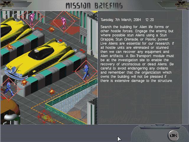 X-COM: Apocalypse screenshot