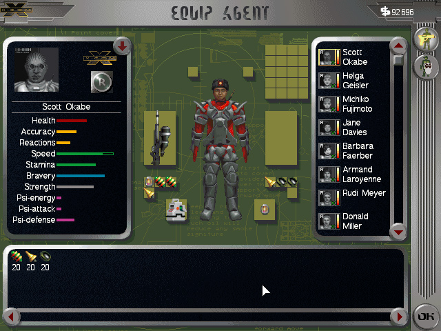 X-COM: Apocalypse screenshot