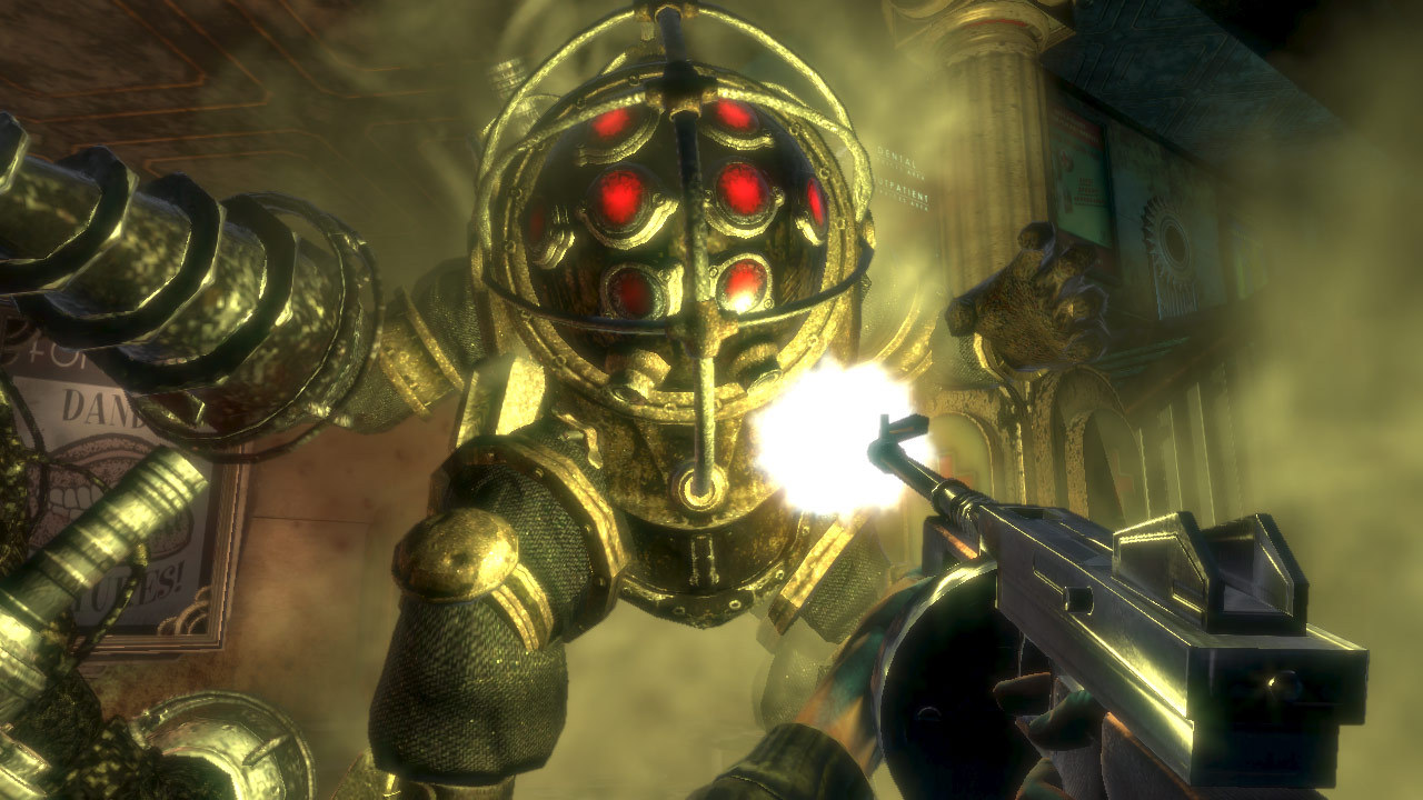 Who's your daddy? (BioShock, Irrational games)