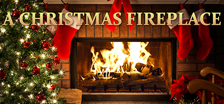 Enjoy a real Birchwood crackling yule log type fireplace mixed with holiday favorites such as Jingle Bells