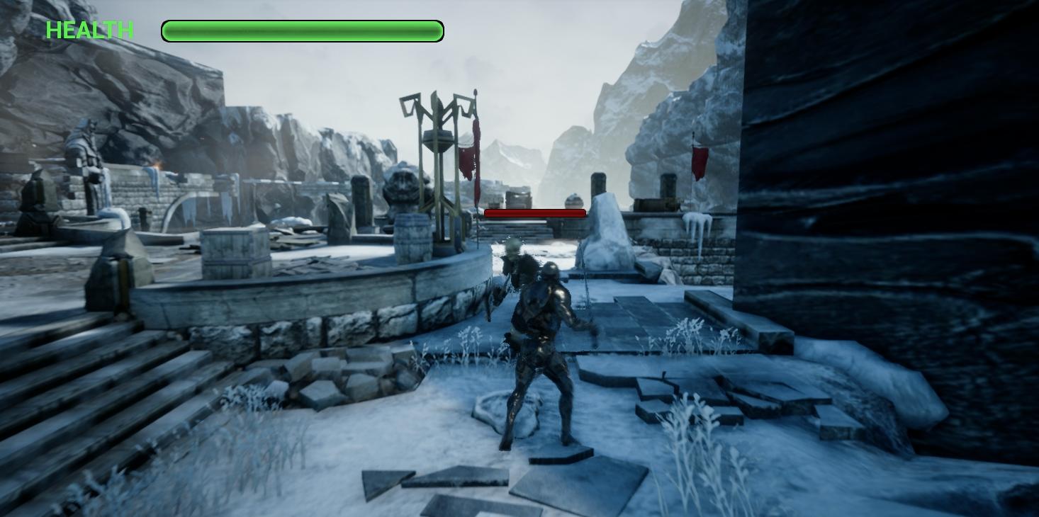 The Warrior Of Treasures screenshot