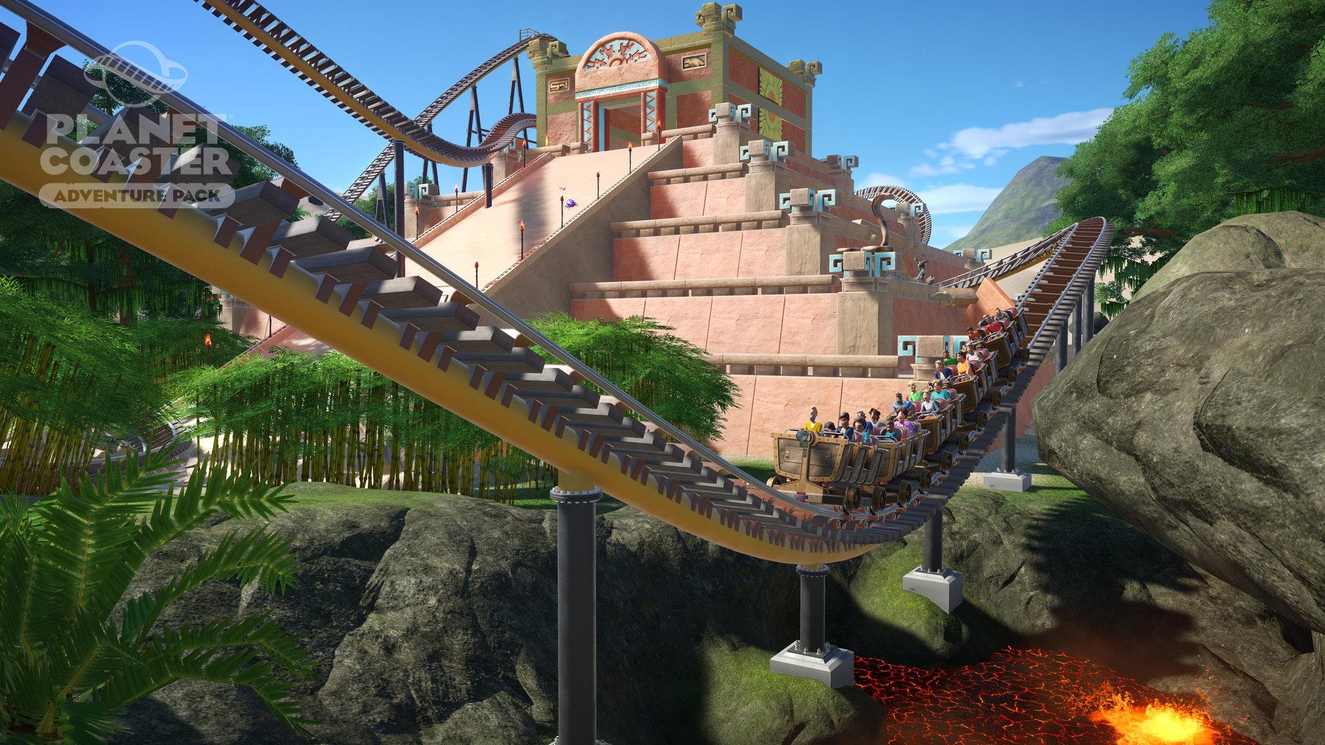Planet Coaster - Adventure Pack screenshot