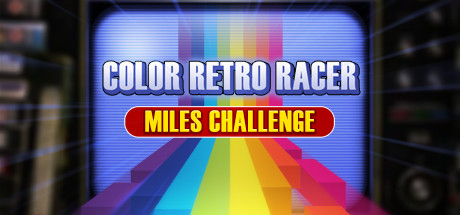 FIRST STEAM GAME VHS - COLOR RETRO RACER : MILES CHALLENGE