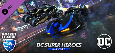Rocket League - DC Super Heroes DLC Pack