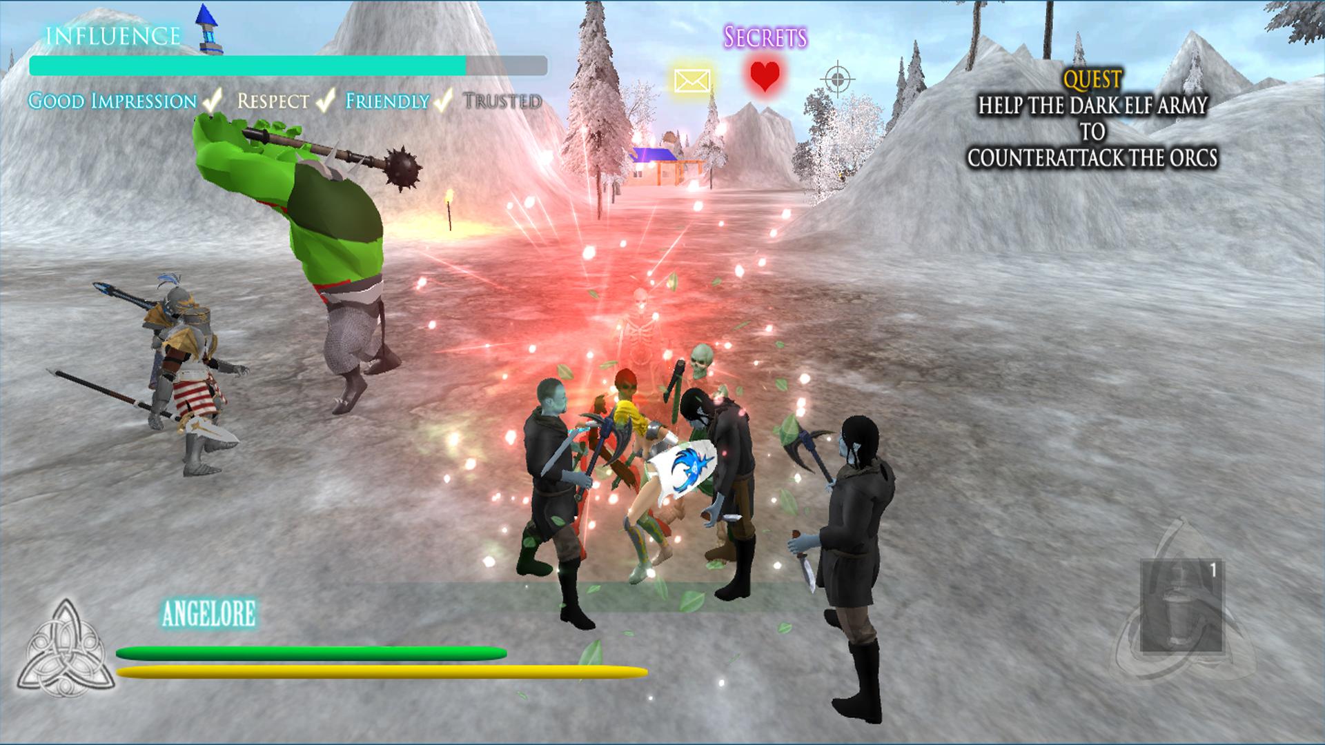 Angel Light The Elven Truce screenshot