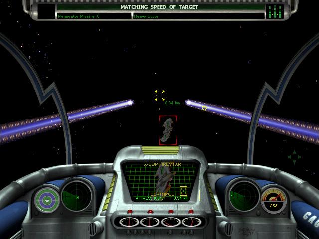 X-COM: Interceptor screenshot