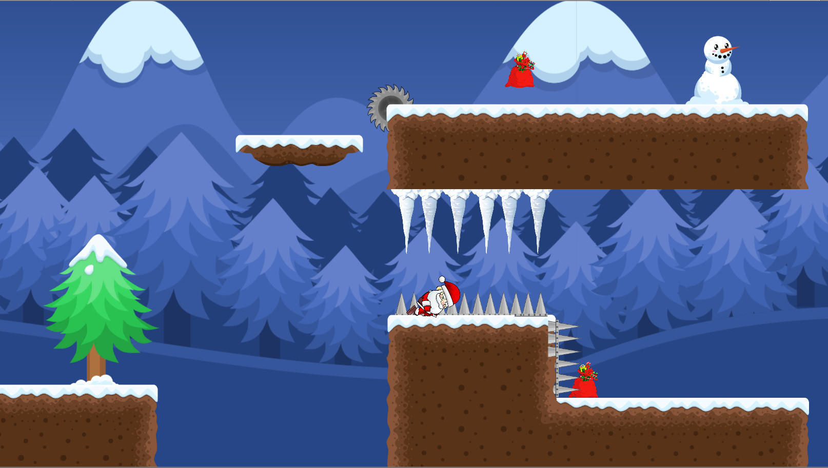 Christmas Santa Troubles screenshot