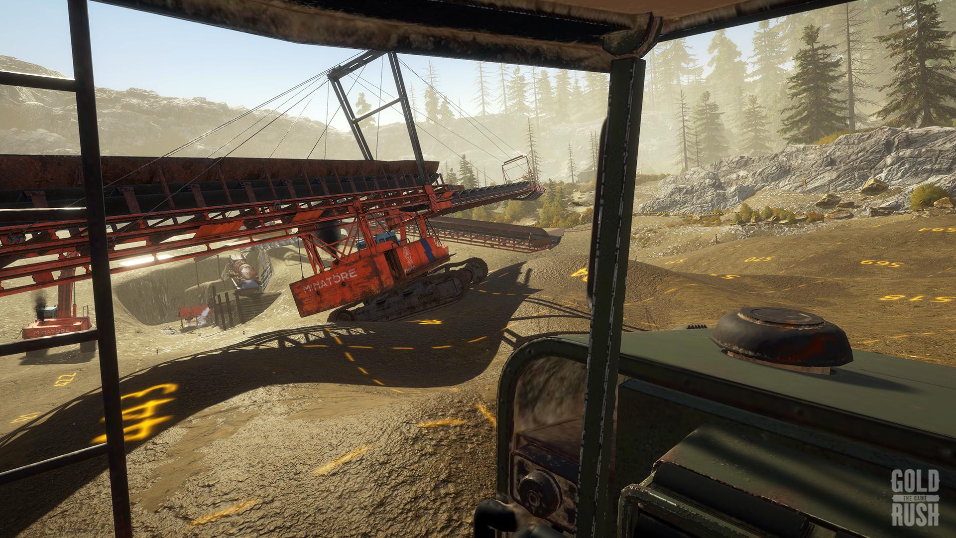 Gold Rush: The Game - Frankenstein Machinery screenshot