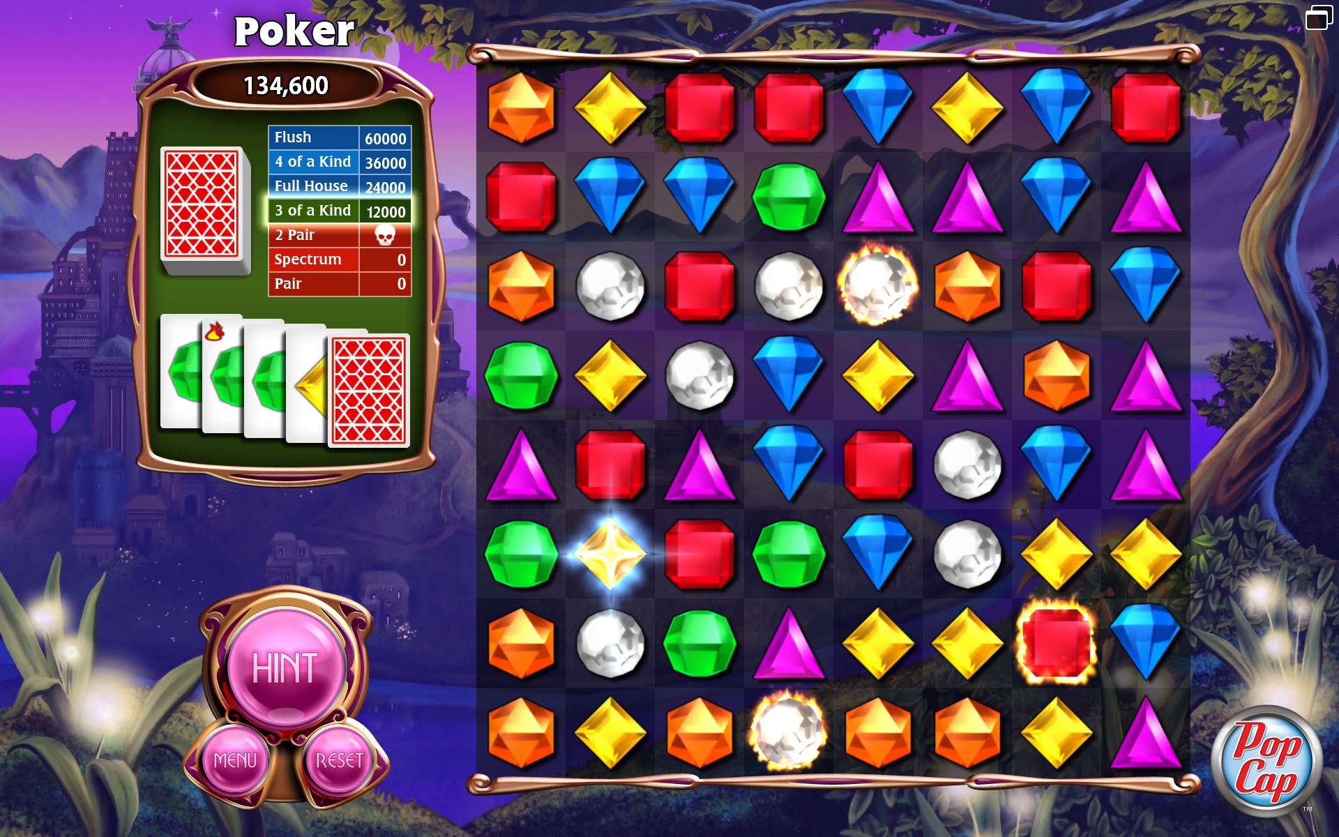 Bejeweled 3 screenshot