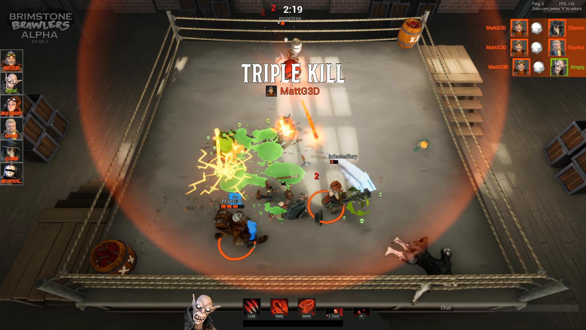 Brimstone Brawlers screenshot