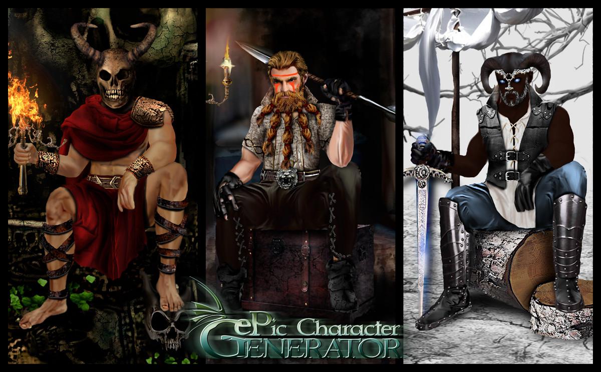 ePic Character Generator - Season #3: Throne Savage screenshot
