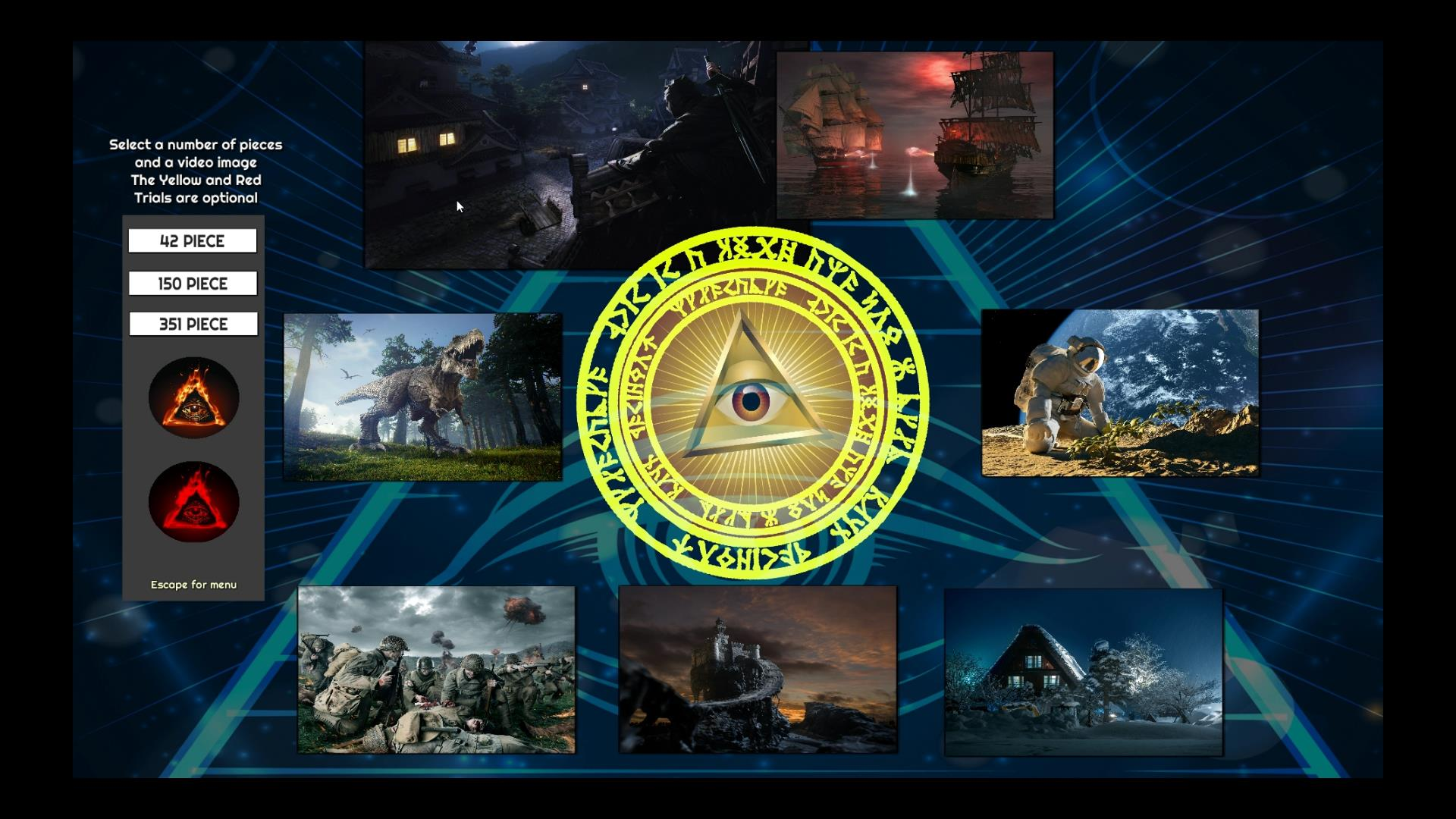 Trials of The Illuminati: Assorted Jigsaws screenshot