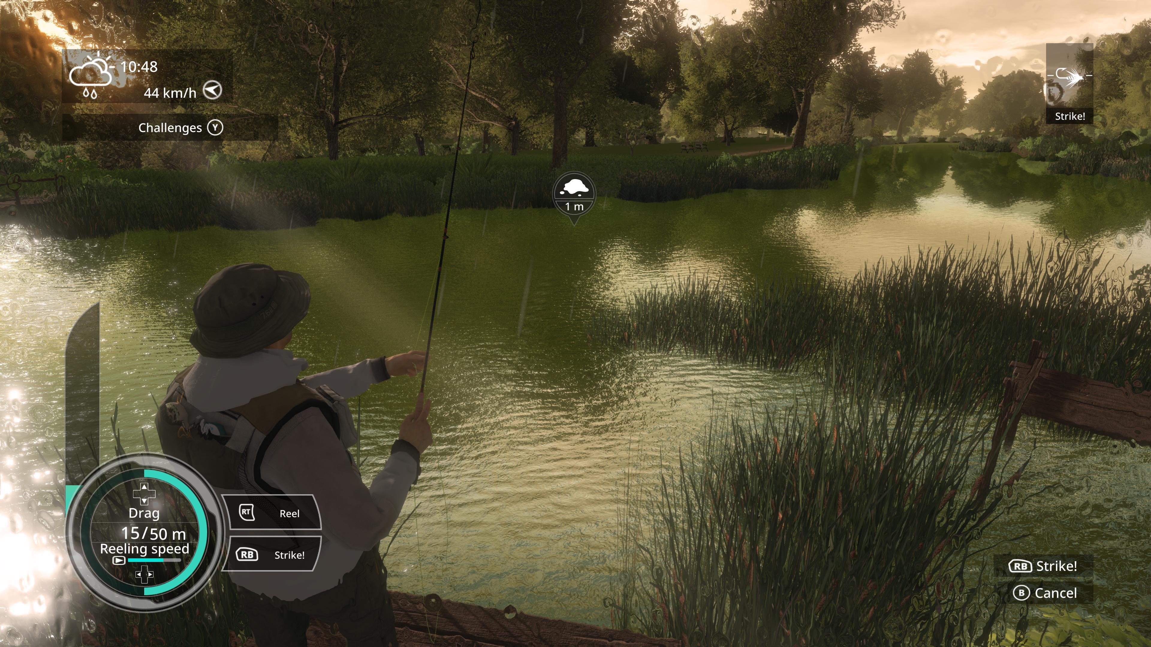 Симулятор рыбалки для двоих