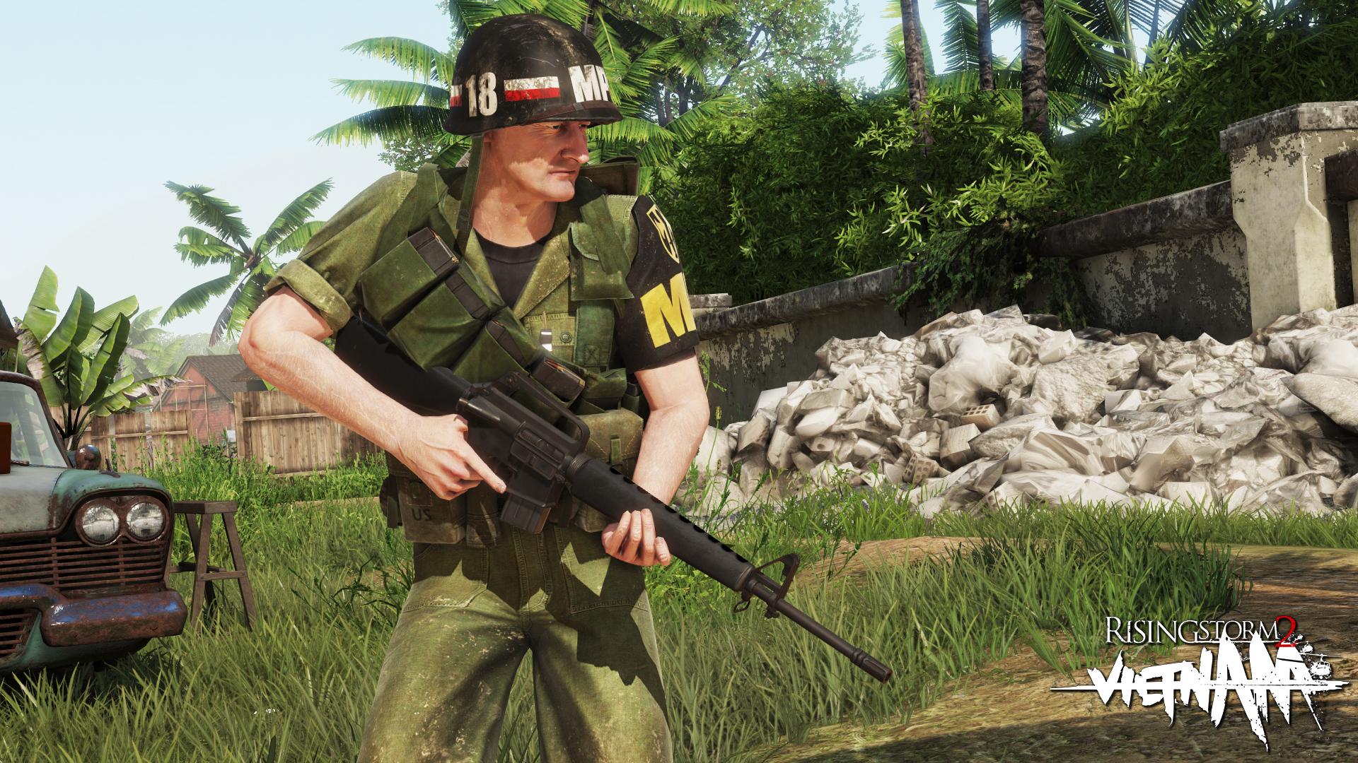 Rising Storm 2: Vietnam - Rear Echelon Cosmetic DLC screenshot