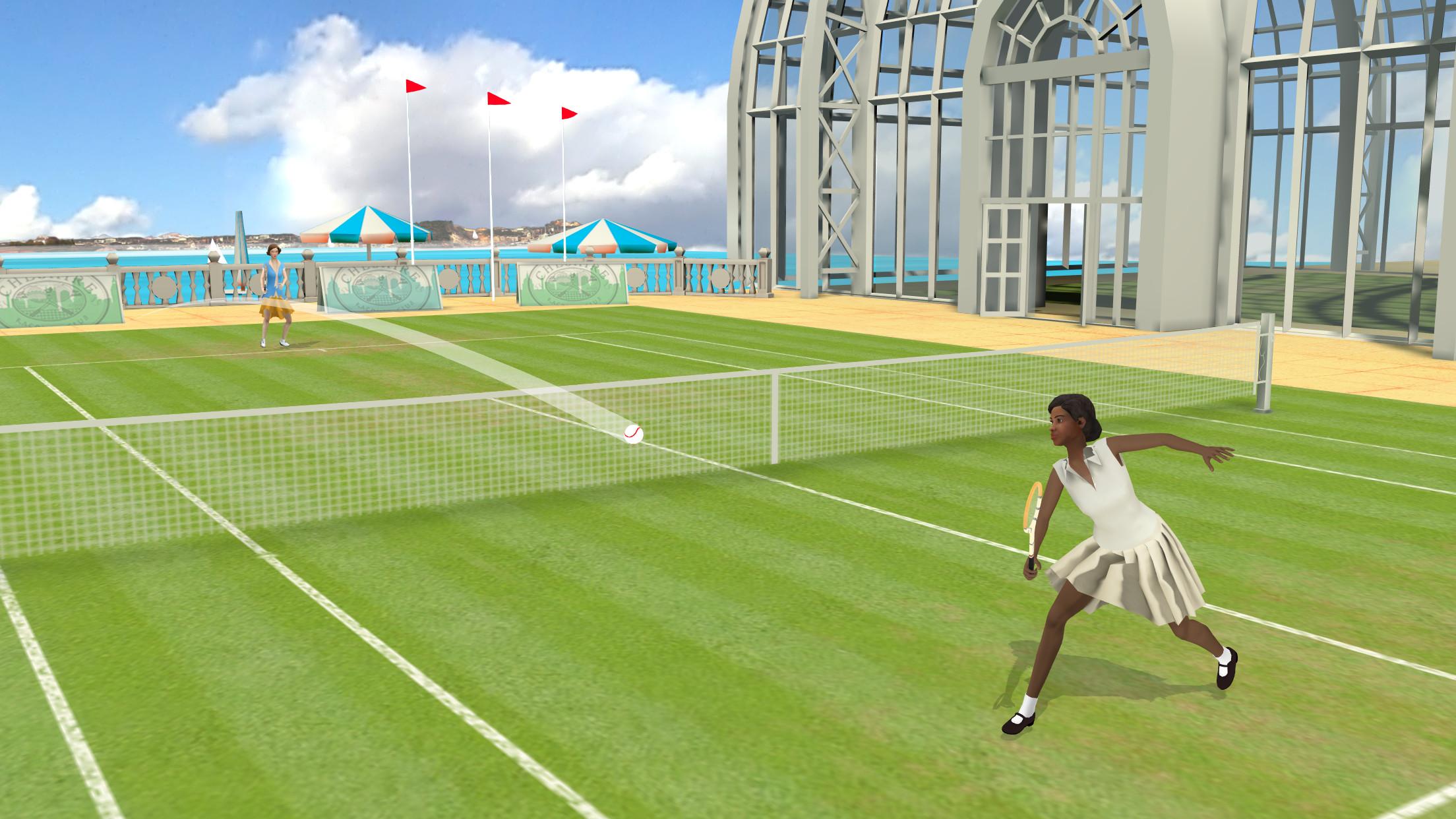 World of Tennis: Roaring '20s screenshot