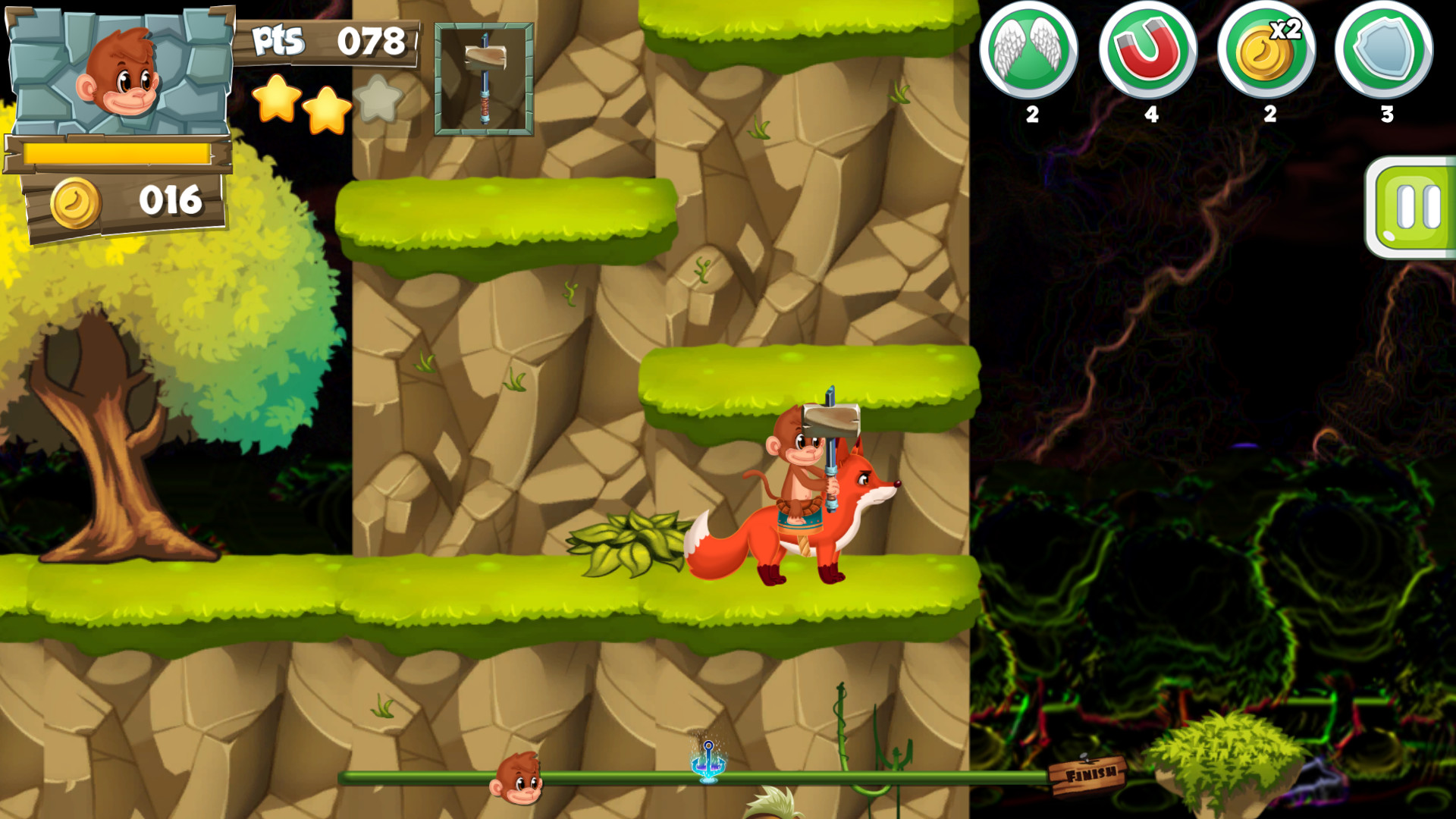 Monkey Slap screenshot