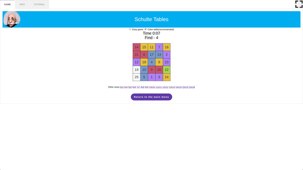скриншот 5-in-1 Bundle Brain Trainings - Schulte Tables 1