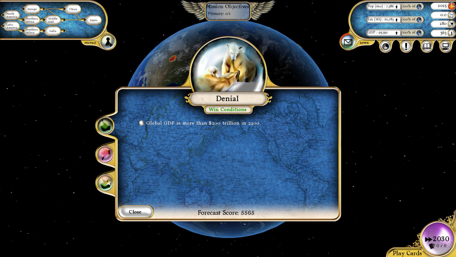 Fate of the World: Denial screenshot