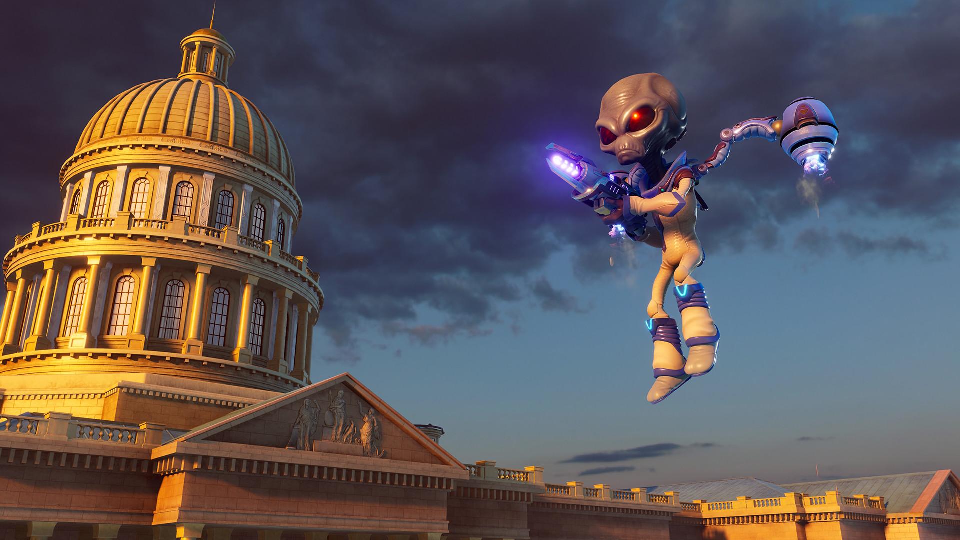 Destroy All Humans! screenshot