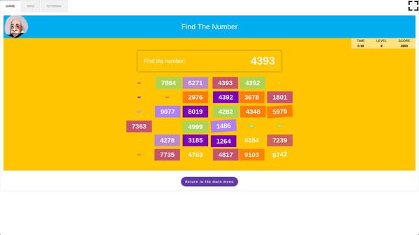 скриншот 5-in-1 Bundle Brain Trainings - Find The Number 0