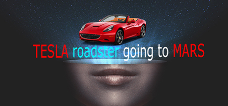 Tesla roadster going to mars