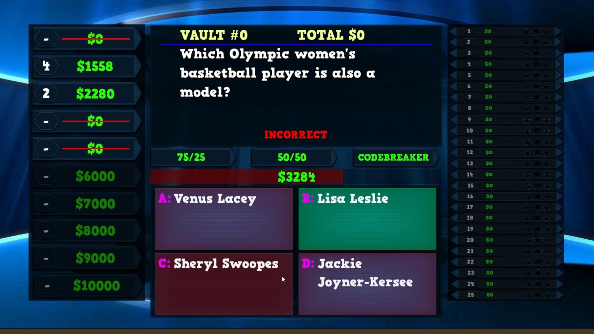 Trivia Vault Olympics Trivia screenshot