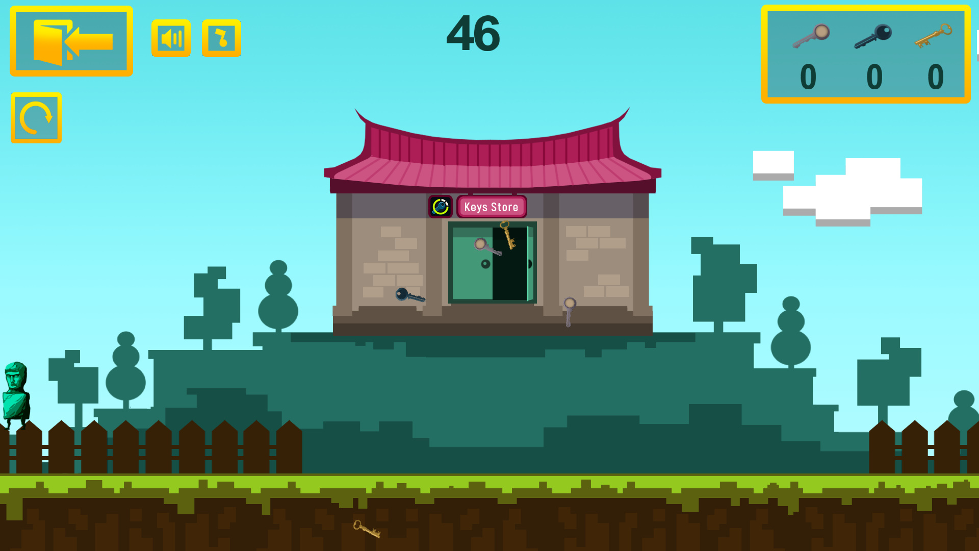 The m0rg VS keys screenshot