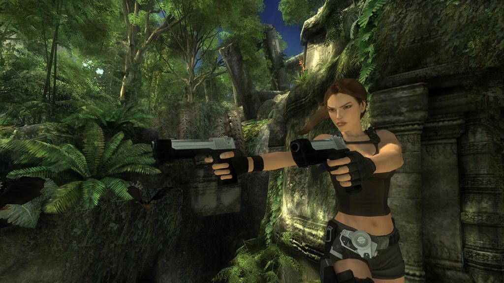 Tomb Raider: Underworld (2008) promotional art - MobyGames