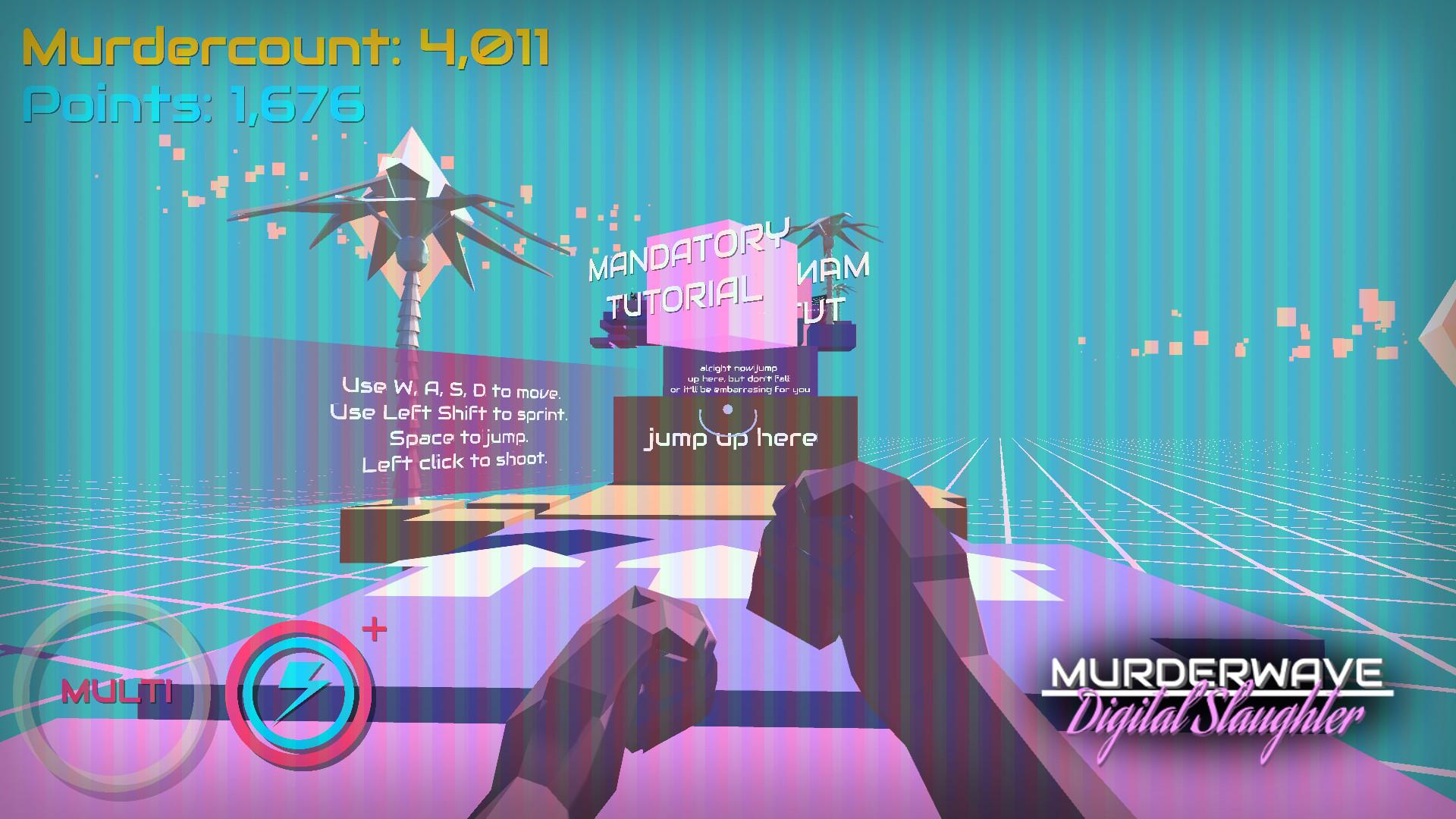 Murderwave: Digital Slaughter screenshot