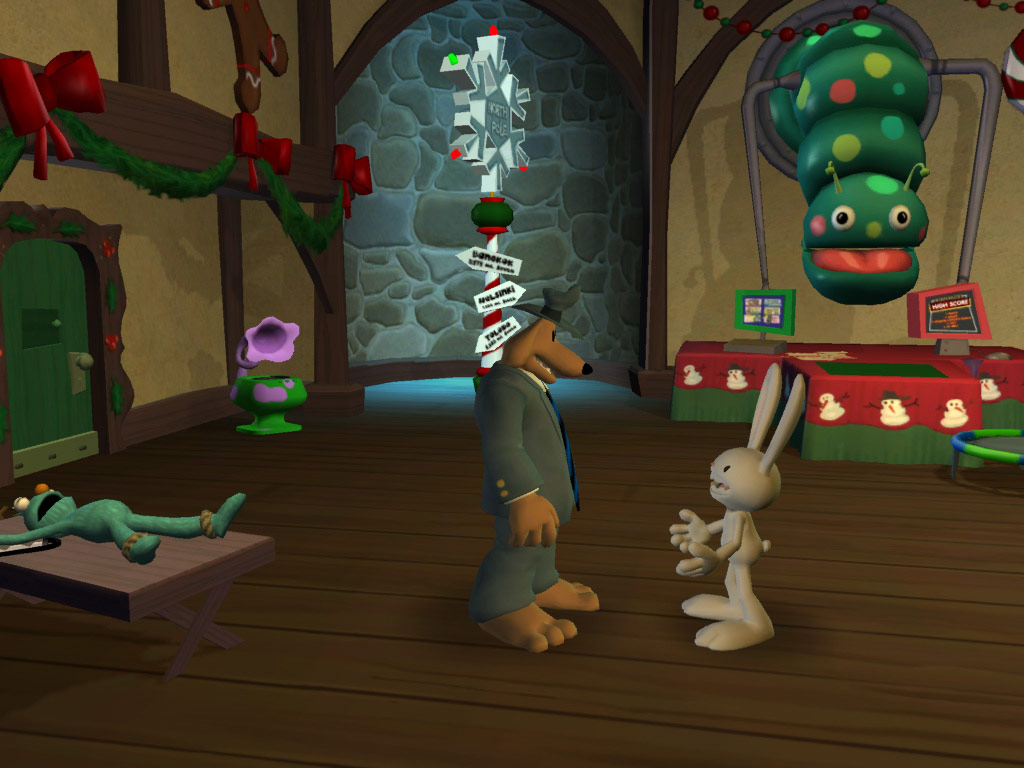 Sam & Max 201: Ice Station Santa screenshot