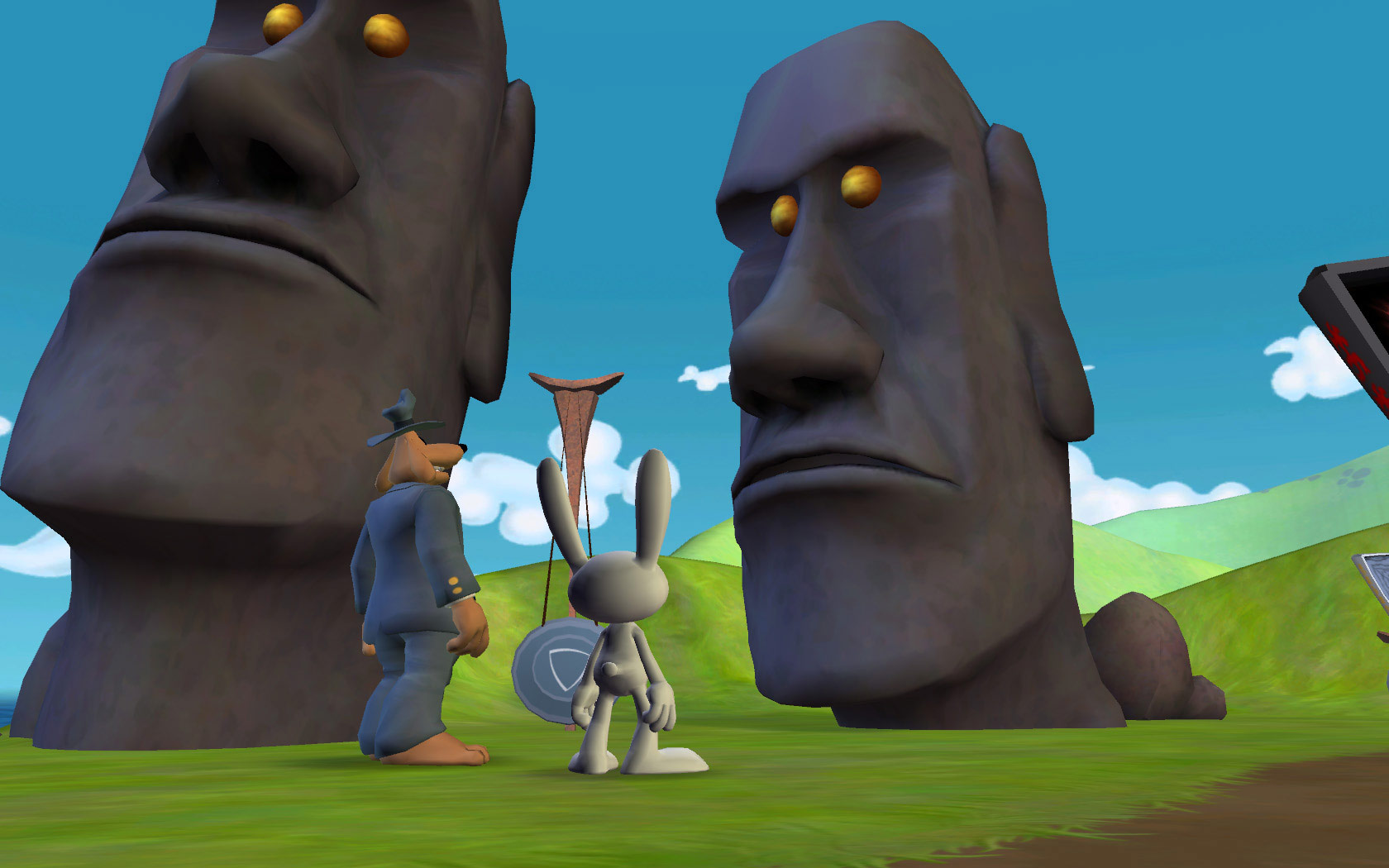 Sam & Max 202: Moai Better Blues screenshot