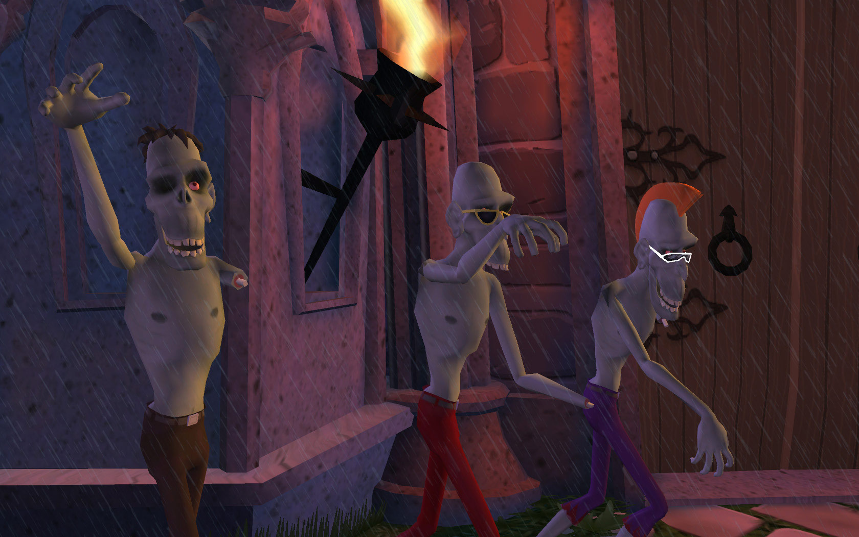 Sam & Max 203: Night of the Raving Dead screenshot