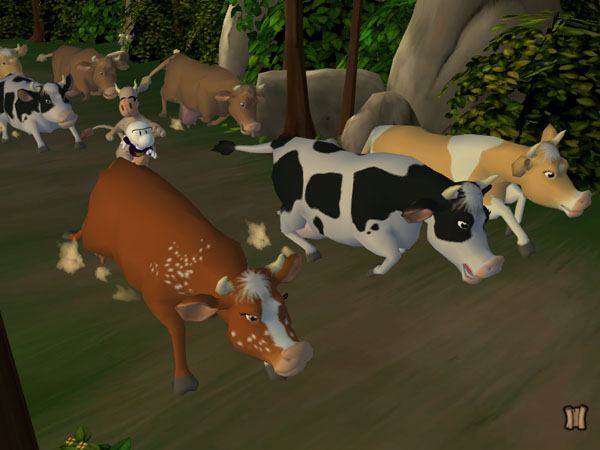 Bone: The Great Cow Race screenshot