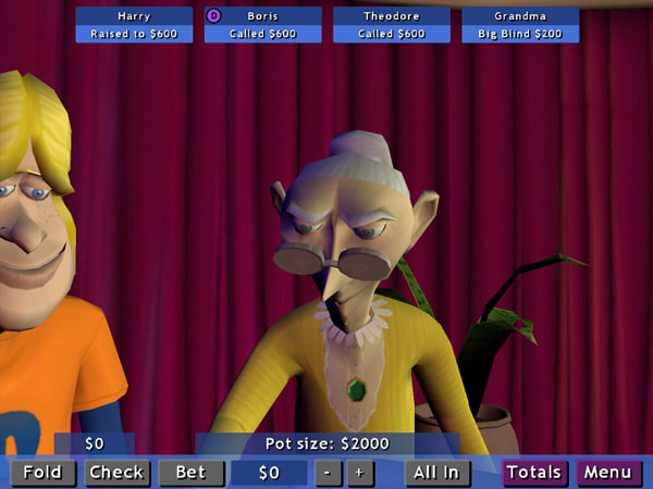 Telltale Texas Hold 'Em screenshot
