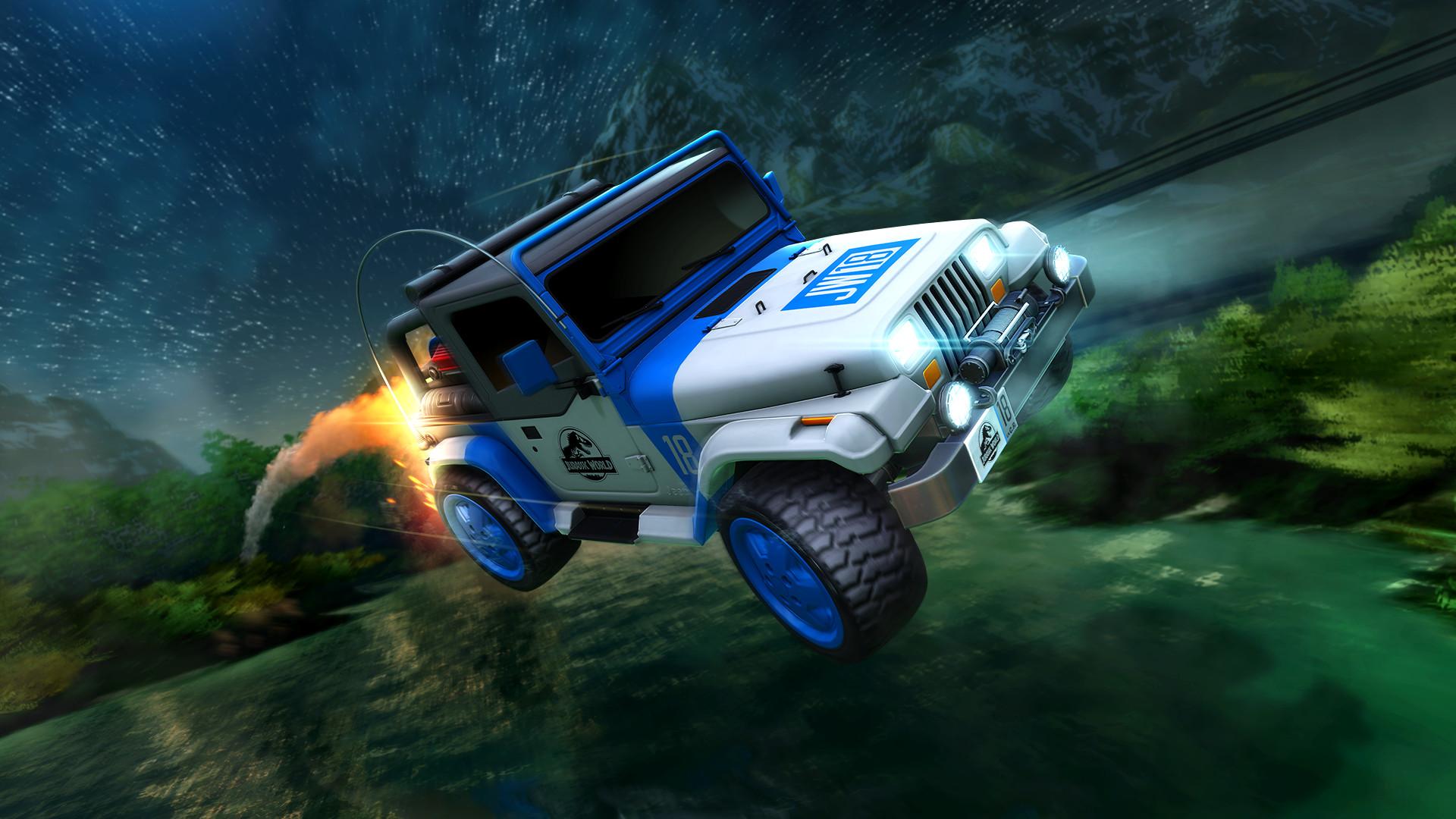Rocket League - Jurassic World Car Pack screenshot