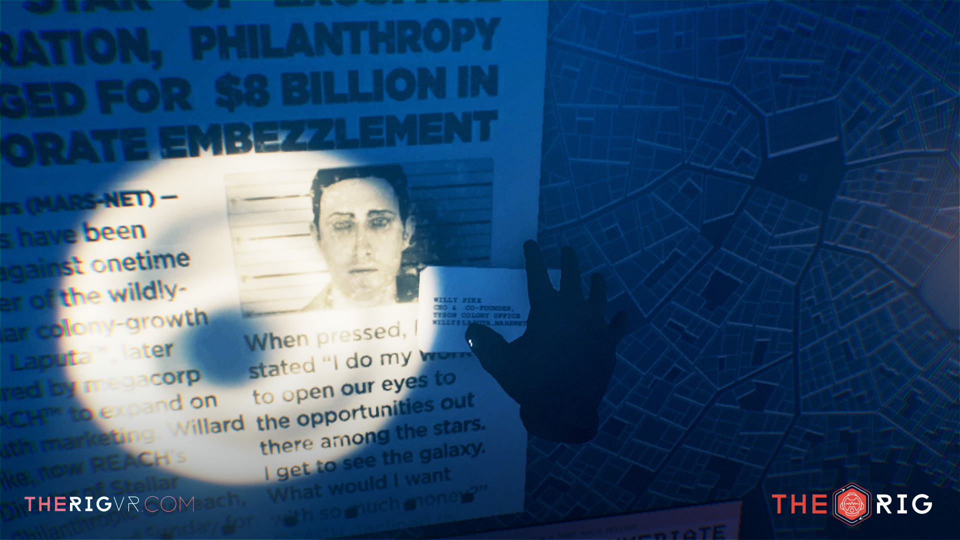 The Rig: A Starmap to Murder screenshot