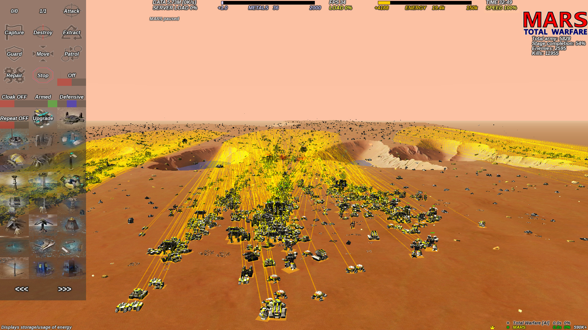[MARS] Total Warfare - Annual Supervisor upgrade (2019) screenshot