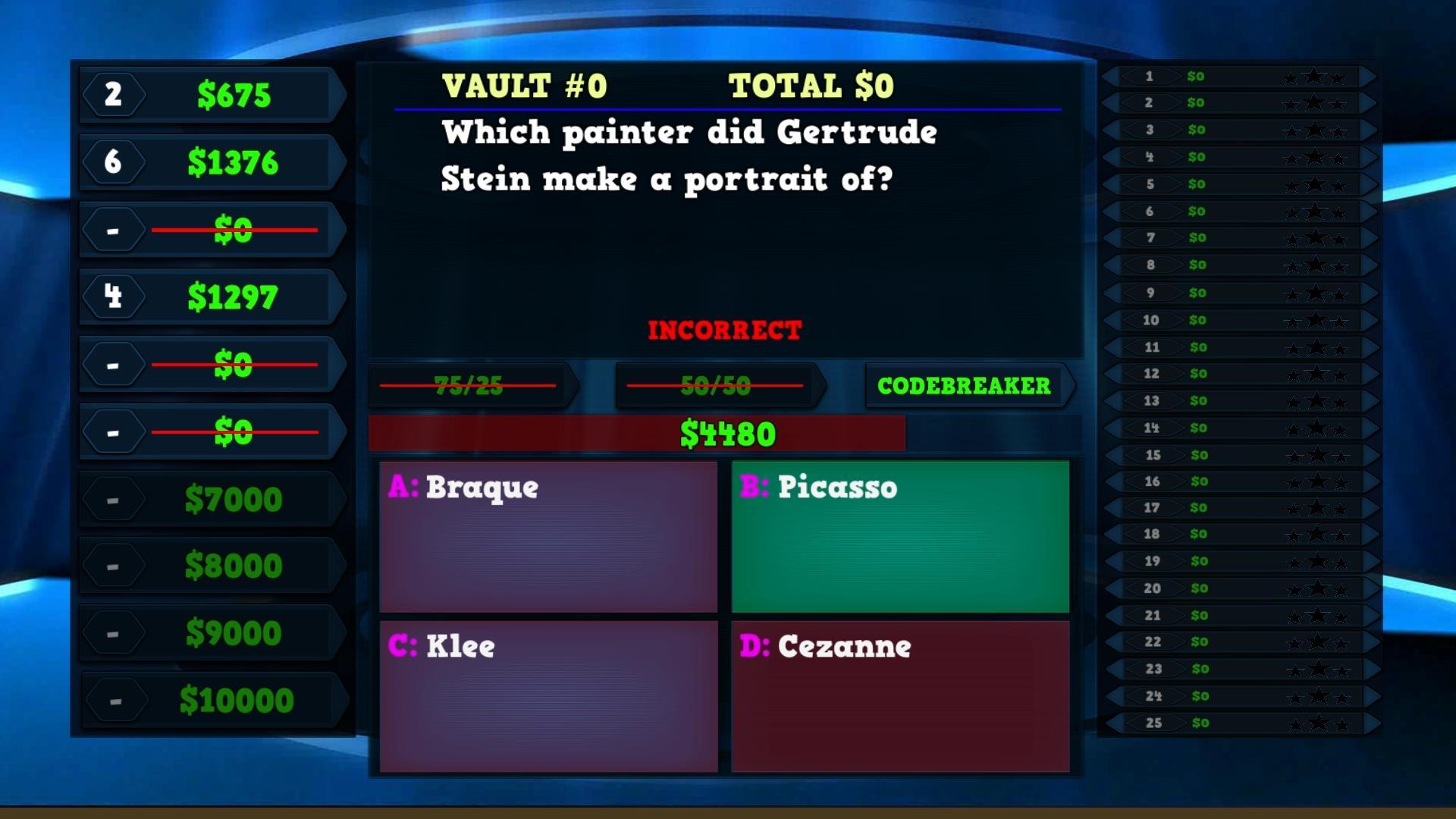 Trivia Vault: Art Trivia screenshot