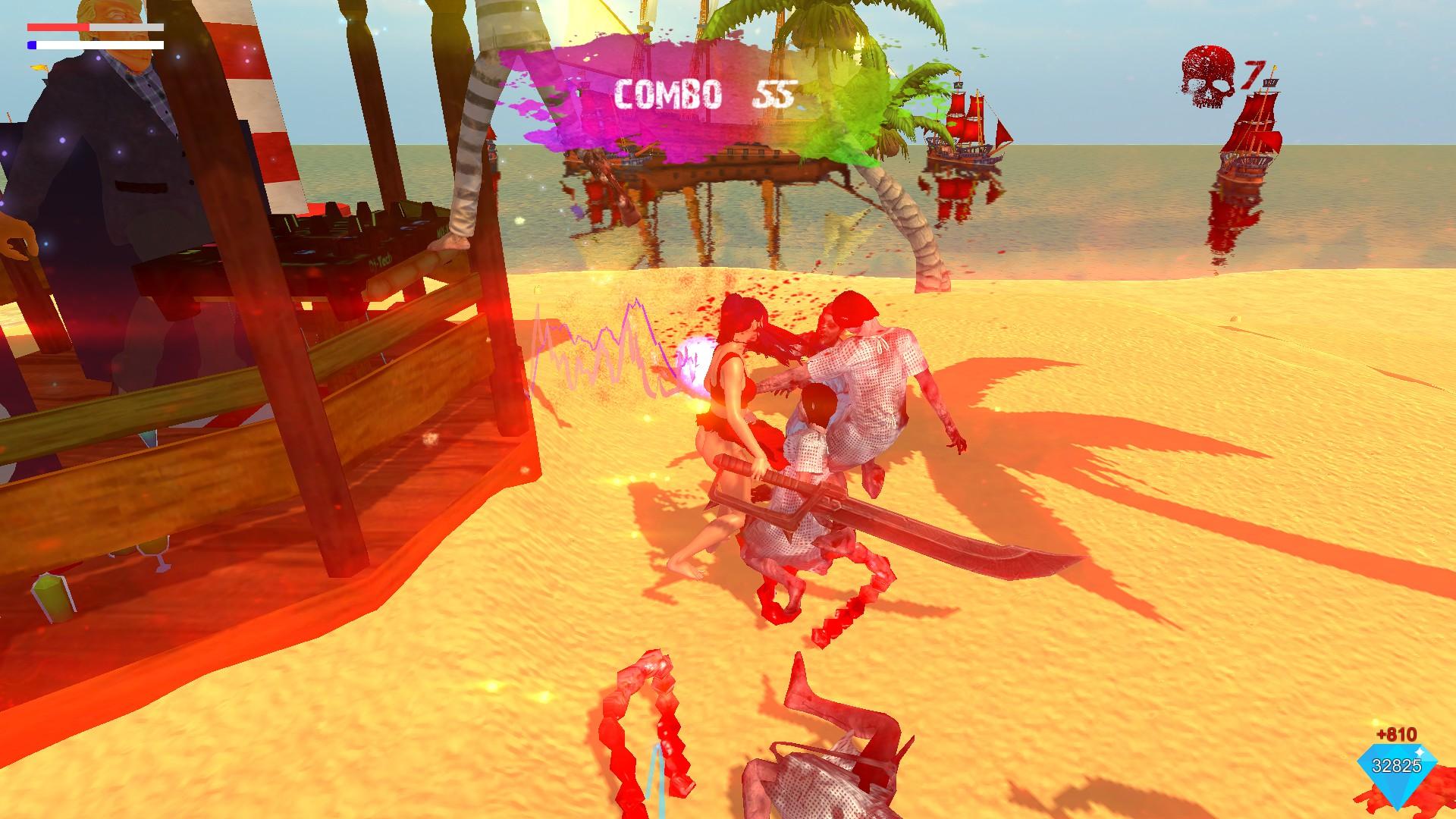 Disco Zombie Rampage 2(with dj Trump) screenshot