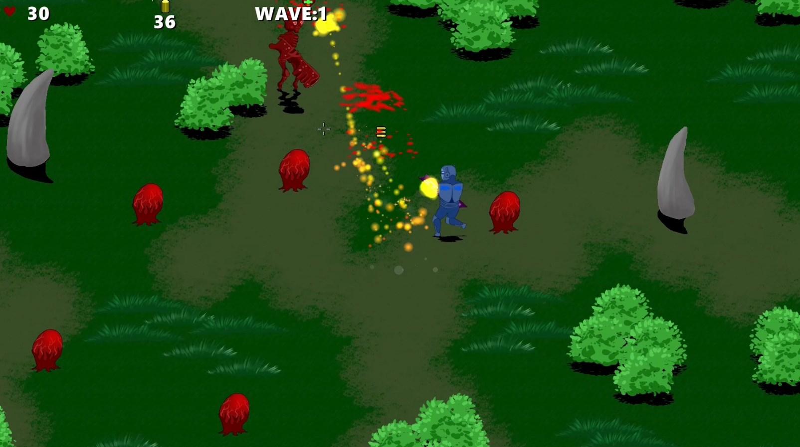 Ranger vs. Space Mutants screenshot