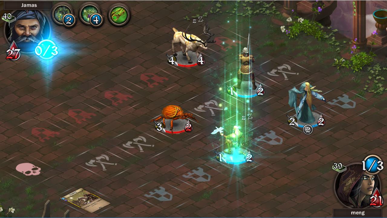 Andor - the Cards of Wonder screenshot