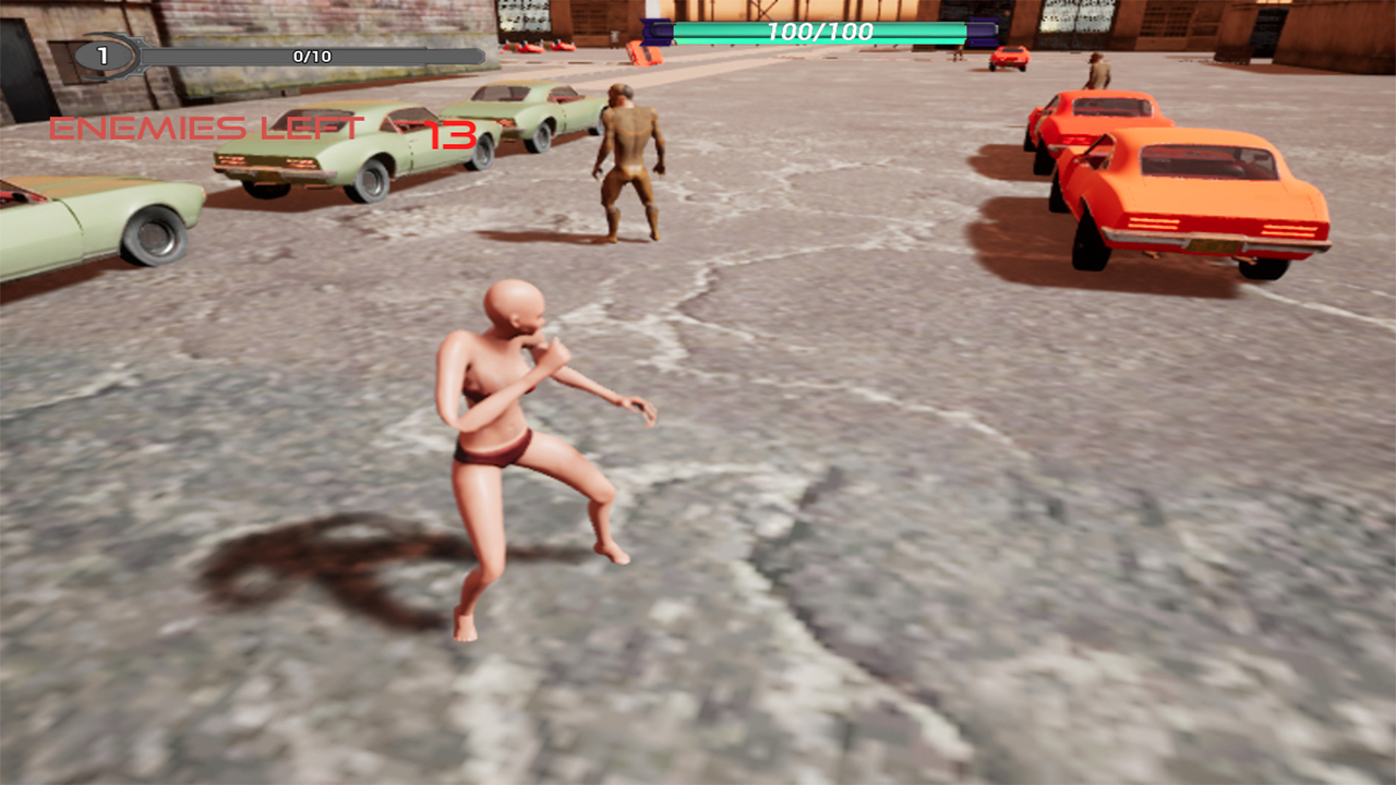 Horny Fighter screenshot