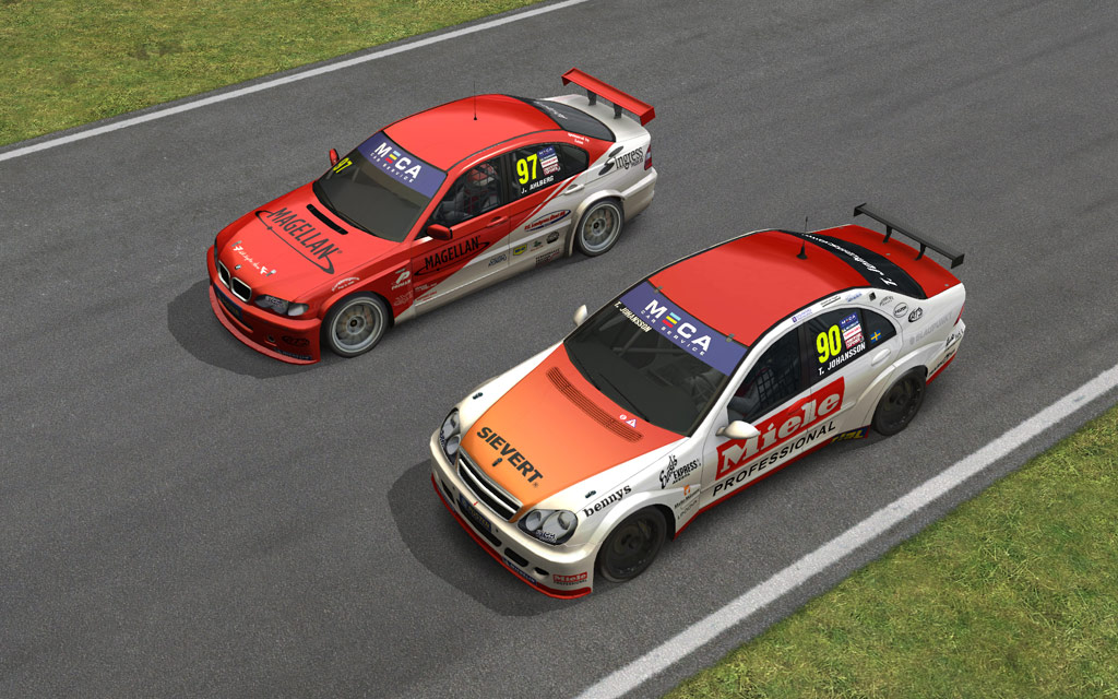 STCC - The Game 1 - Expansion Pack for RACE 07 screenshot