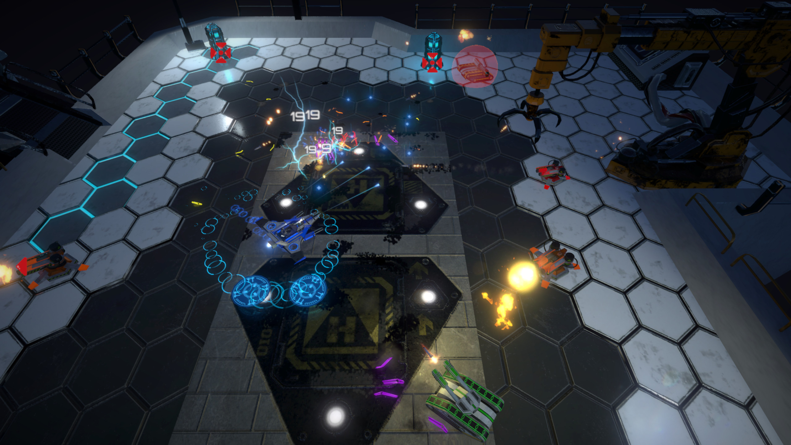 Hovership Havoc screenshot