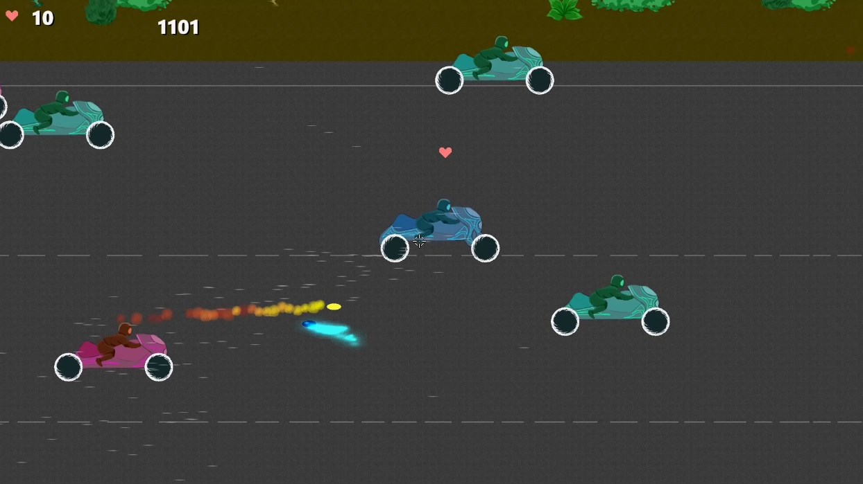 Learn to Drive on Moto Wars screenshot